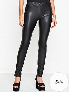 sofie-schnoor-cecillia-faux-leather-leggings-black