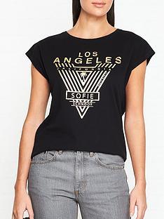 sofie-schnoor-nikoline-los-angeles-printed-t-shirt-black