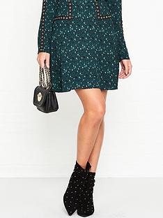 sofie-schnoor-dafne-animal-print-eyelet-mini-skirt--green