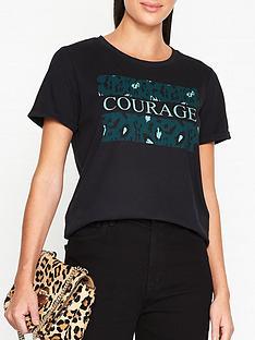 sofie-schnoor-filicia-animal-print-t-shirt-black