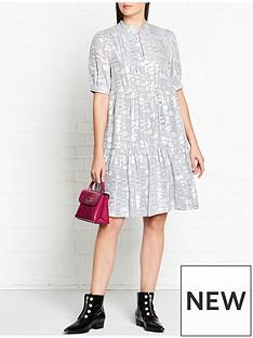 gestuz-sira-lurex-dress-silver
