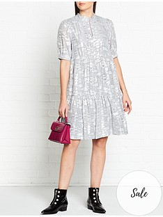 gestuz-sira-lurex-dress-silver