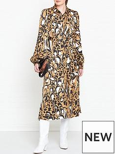 gestuz-lori-leopard-print-dress-brown