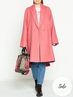 gestuz-davina-oversized-coat-pink
