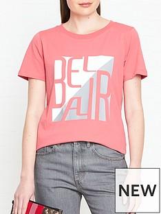 gestuz-bel-air-t-shirt-pink