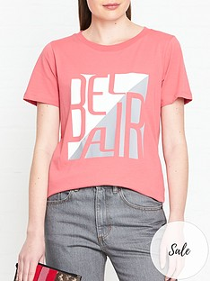 gestuz-bel-air-t-shirt-pink