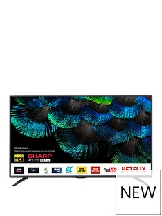 Sharp Sharp 50BJ5K 50 inch 4K Ultra HD Smart TV with Freeview Play