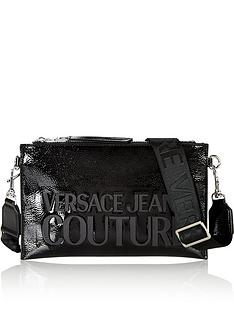 versace-jeans-couture-patent-logo-cross-body-bag-black