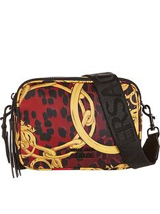 versace-jeans-couture-chain-print-nylon-cross-body-bag-red