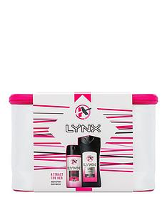 lynx-attract-for-her-washbag-gift-set