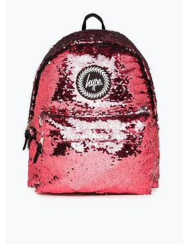 hype-girls-sequin-backpack-pink