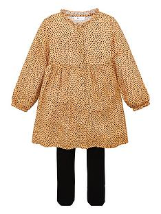 v-by-very-girls-2-piece-spot-dress-and-tights-set-peach