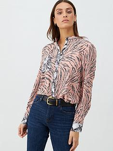 v-by-very-animal-print-mix-shirt-pink