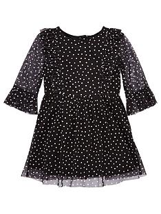 v-by-very-girls-polka-dot-mesh-dress-multi