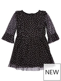 v-by-very-girls-polka-dot-mesh-dress-multi