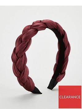 michelle-keegan-mk-plaited-hairband