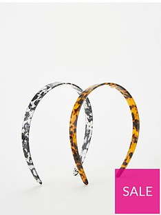 v-by-very-2-pack-resin-hairbands-multi