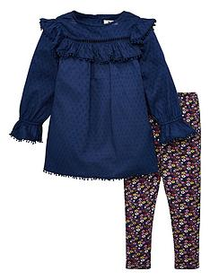 v-by-very-girls-2-piece-dress-and-floral-legging-set-multi