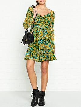 versace-jeans-couture-leo-chain-tulle-mini-dress-green