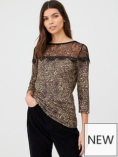 v-by-very-animal-lace-bib-top-leopard
