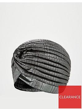 v-by-very-metallic-turban-silver