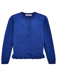 v-by-very-girls-ruffle-cardigan-navy