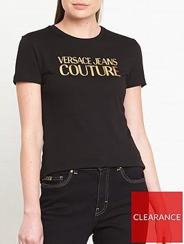 versace-jeans-couture-logo-foil-t-shirt-black
