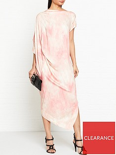 vivienne-westwood-anglomania-annex-tie-dye-printnbspdrape-dress-pink