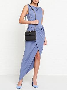vivienne-westwood-anglomania-vian-jersey-drape-dress-blue