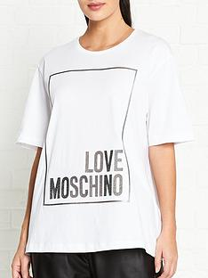 love-moschino-logo-box-t-shirt-white