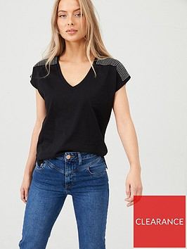 v-by-very-diamante-shoulder-panel-t-shirt-black