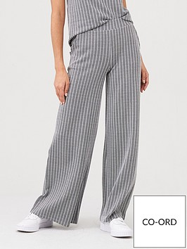 v-by-very-wide-leg-jacquard-co-ord-joggers-grey