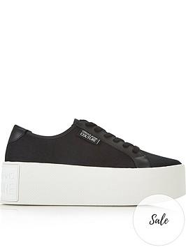 versace-jeans-couture-canvas-platform-trainers-black