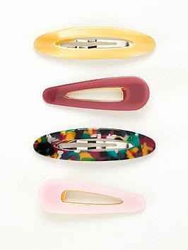 v-by-very-mixed-resin-hair-clips-4-pack-multi