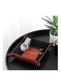 luxury-brown-personalised-valet-tray