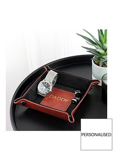 luxury-brown-personalised-valet-tray