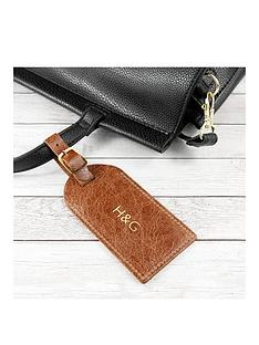 natural-tan-foiled-leather-luggage-tag-personalised