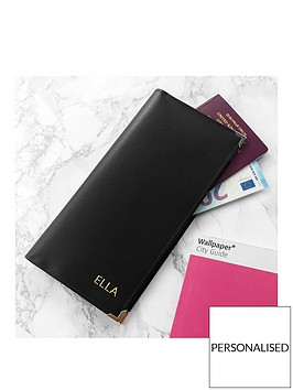 personalised-luxury-leather-travel-wallet