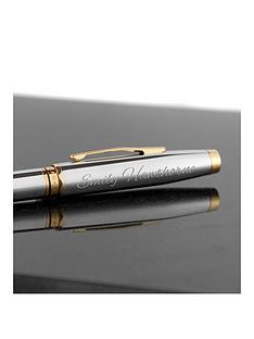 treat-republic-cross-chrome-gold-coventry-pen