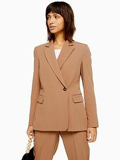 topshop-remi-double-breasted-suit-jacket-camel