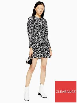 topshop-austin-mini-dress-monochrome