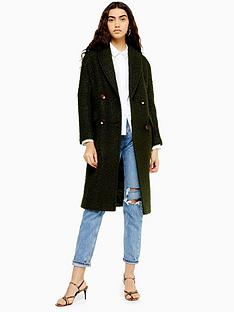 topshop-double-breasted-longline-coat-khaki