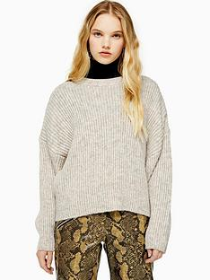 topshop-topshopnbspknitted-crew-neck-jumper-oat