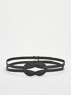 michelle-keegan-mk-double-buckle-knotted-waist-belt