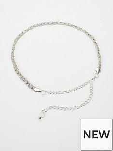 michelle-keegan-mk-plaited-chain-belt