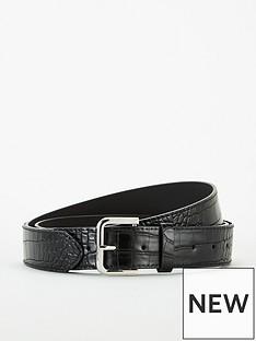 michelle-keegan-studded-croc-belt-black