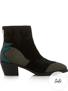 sofie-schnoor-vickie-flame-glitter-cowboy-boots-black