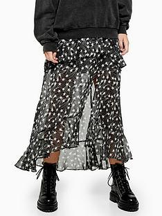 topshop-star-ruffle-maxi-skirt-black