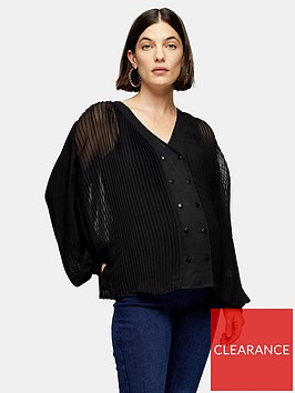 topshop-maternity-gather-yoke-shirt-black