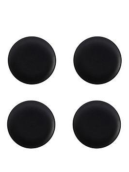 maxwell-williams-maxwell-amp-williams-caviar-black-20-cm-coupe-plates-ndash-set-of-4